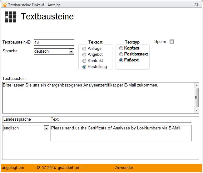 Textbausteine Und Verweise Metacarp Gmbh Onlinehilfe